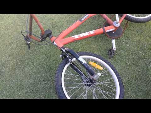 Homemade drift trike build Part 1