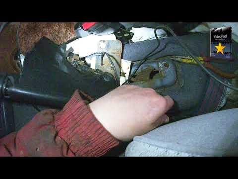Замена троса стояночного тормоза Ford Sierra