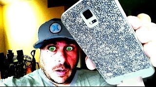 case mate crystals & leather case samsung galaxy s5 unboxing review