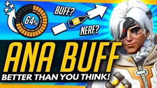 Overwatch | What You Didn't Realize About The ANA BUFF ft. KarQ - [Ana Discussion]