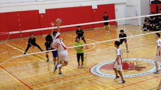 High School Boy's Volleyball Festival at YIS - 2nd Game of the Night