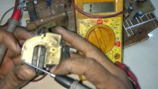 How to work flyback transformer in CRT TV part 1