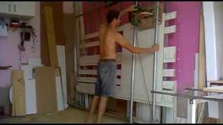 getlinkyoutube.com-painel saw,Serra Esquadrejadeira  vertical feita em casa corta mdf revestido com perfeição