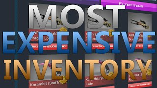 getlinkyoutube.com-CS:GO Case Clicker - Most Expensive Inventory (600+ Knives, 7 DLores)