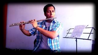 Sora ni hikaru (Shining in the sky) -  Clannad \ Flute cover by Gabe