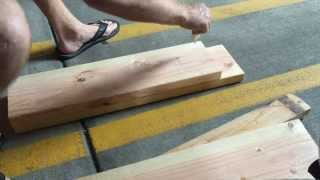 getlinkyoutube.com-How to Make a Motorcycle Jack / Lift
