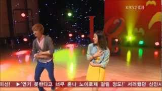 getlinkyoutube.com-Dream High 2 (드림하이 2) - JB and Kang Sora - Bobbed Hair (Kim Jong Seo) [Episode 12]