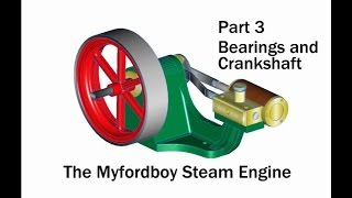 getlinkyoutube.com-Building the Myfordboy Steam Engine Part 3 Bearings and Crankshaft