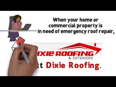 Emergency roof repair company in Summerville SC - 843-285-8564