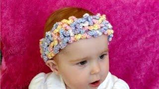 getlinkyoutube.com-How to crochet a loopy, ruffle, frilly headband