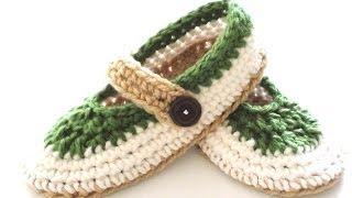 getlinkyoutube.com-St. Patty Slapper Crochet Slippers - Pt 2 - Sides