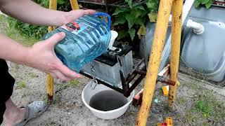 getlinkyoutube.com-Замена электролита в аккумуляторе ( Replacement battery electrolyte )