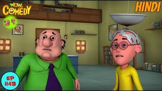 Motu Patlu | Satellite Patlu | Cartoon In Hindi For Kids | Funny Cartoon Video
