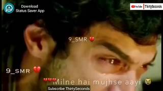Sad Crying Whatsapp Status | 30 Seconds Video Status | Aashiqui 2 Dailouge 💖 width=