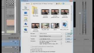 getlinkyoutube.com-Sony Vegas Best 8/9/10/11 HD settings Super Compression and great quality | AVI + H264 + X264 + MP4