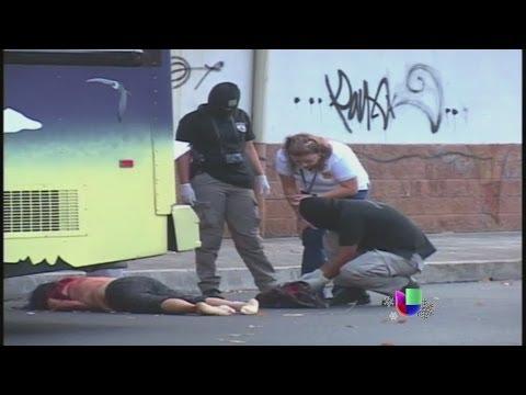 La violencia se ensañó con El Salvador en 2013 -- Noticiero Univisión