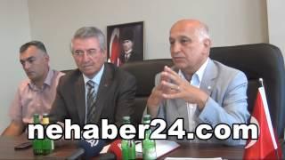Türk Kızılayı Genel Başkanı Erzincan Mineralli Su İşleme Fabrikasını İnceledi