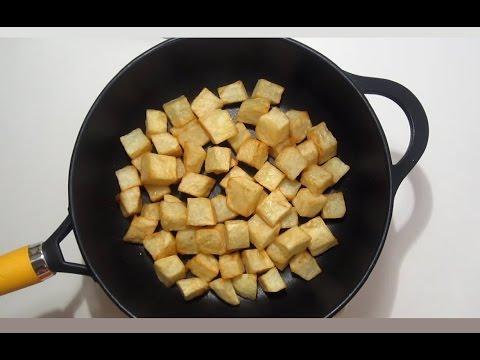 اكله للشاب العازب - البطاطا بالبيض