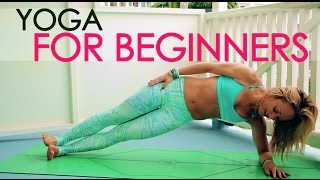 getlinkyoutube.com-Yoga for Beginners, Journey into Strength with Kino