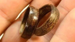 getlinkyoutube.com-Making wooden rings