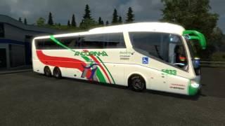 getlinkyoutube.com-Euro Truck Simulator 2 - IRIZAR PB BUS- 1.21.1s + link