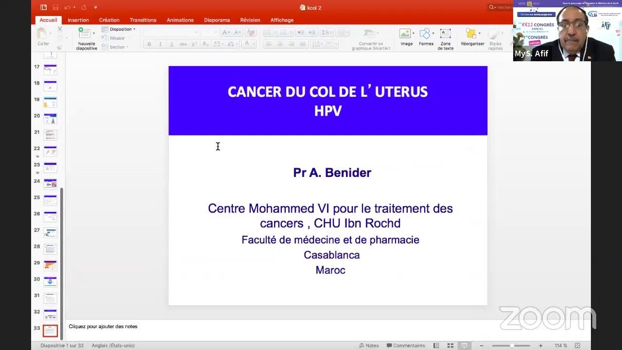 ACPP XXIIème Congrès VACCINATION ANTI- HPV : LE POINT