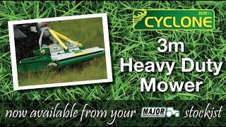 MAJOR 3m Cyclone Mower