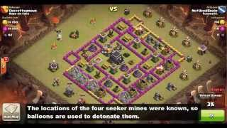 getlinkyoutube.com-Clan Wars: TH7/TH8 Dragon Attack Strategy - Seekers