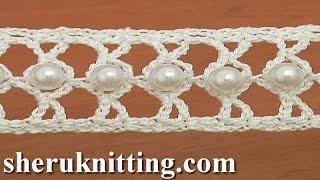 getlinkyoutube.com-How to Crochet a Beaded Narrow Tape Tutorial 21