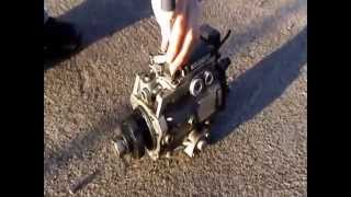 getlinkyoutube.com-Pompa wtryskowa Opel Vectra C 2.0 2.2 dti dtl dth psg16 vp44 STEROWNIK POMPY ZAFIRA ASTRA NAPRAWA