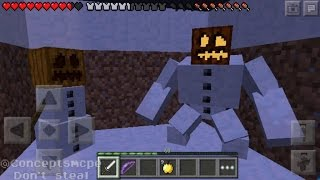 getlinkyoutube.com-Minecraft Pocket Edition 0.15.0 Concepts! Golems, Shaders and Armor stands!