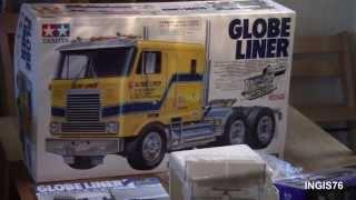 getlinkyoutube.com-RC TRAIL TAMIYA GLOBE LINER UNBOXING