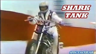 getlinkyoutube.com-EVEL KNIEVEL jumps shark tank ULTRA RARE never televised