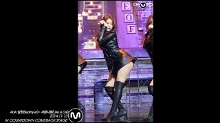 getlinkyoutube.com-[MPD/직캠] 141113 AOA 설현(Seol Hyun)- 사뿐사뿐(Like a Cat)