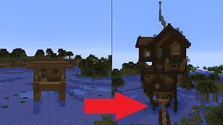 getlinkyoutube.com-Let's Transform a Minecraft Witch Hut!