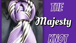 getlinkyoutube.com-The Majesty Knot : How to tie a tie