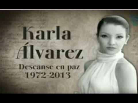 Actriz Karla Álvarez Muere En México De Complicaciones A Los 41 Anos En Paz Descanse