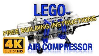 "LEGO High Power Pneumatic ""8 Cylinder four-stroke Air Compressor XL"" MOC by Quanix"