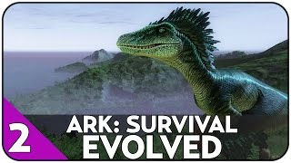 getlinkyoutube.com-POLOWANIE NA DUŻE DINOZAURY Z CASTELAREM - ARK: Survival Evolved #2 [PL/HD]
