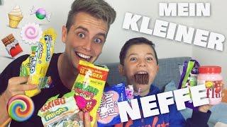 getlinkyoutube.com-Mein kleiner Neffe Max ➤ WIR TESTEN SÜßIGKEITEN | Julienco