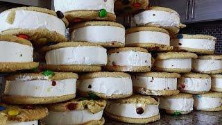 getlinkyoutube.com-25 M&M Ice Cream Sandwiches (6,000+ calories)