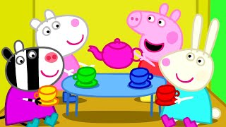 getlinkyoutube.com-Peppa Pig - Peppa plays with friends (35 minutes compilation)