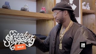 2 Chainz goes Sneaker Shopping with Complex