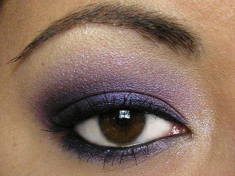 smoky purple eye makeup. Purple Smokey Eye eyeshadow