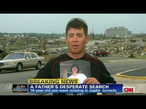 CNN: Joplin father's desperate search for son