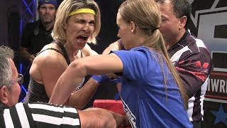 getlinkyoutube.com-Wild women armwrestling ``Chris Regiane Teodoro`` -BRAZIL ARMWRESLING-