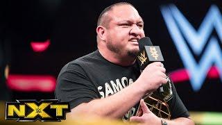 getlinkyoutube.com-Samoa Joe is furious about his TakeOver: Brooklyn match: WWE NXT, July 27, 2016