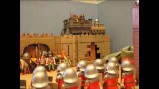 getlinkyoutube.com-Playmobil: Roman Battle
