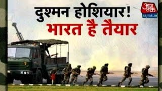 getlinkyoutube.com-Indian Army Conducts Battle Exercise 'Shatrujeet' In Rajasthan