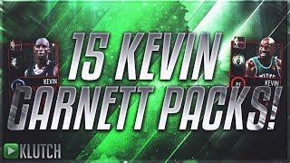 getlinkyoutube.com-FIFTEEN KEVIN GARNETT PACKS! DID WE PULL KEVIN GARNETT? NBA LIVE MOBILE